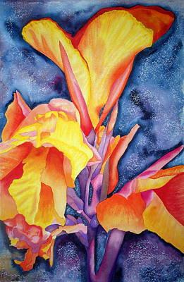 Bursting Forth Poster by Margaret Elizabeth Johnston ND