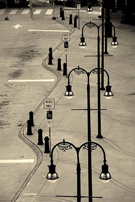 Bus Stop In Nashville Tn Poster by Susanne Van Hulst