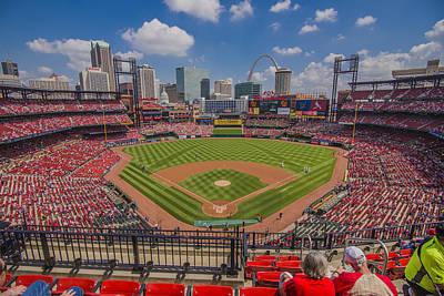 Busch Stadium St Louis Cardinals Ball Park Village #3 Poster