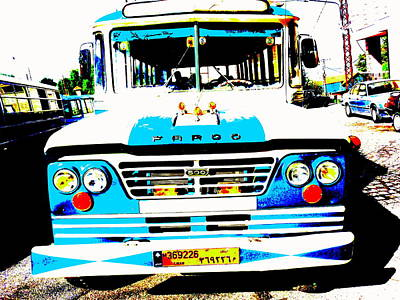Busing In Lebanon  Poster by Funkpix Photo Hunter