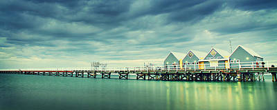 Busselton Jetty Poster by Jimmy Chong