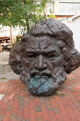 Bust Of Frederick Douglass Poster by Arnold Hence