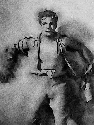 Buster Crabbe As Flash Gordon Poster by John Springfield