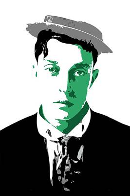 Buster Keaton Poster by DB Artist