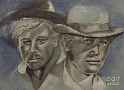 Butch And Sundance Poster by Sandra Valentini