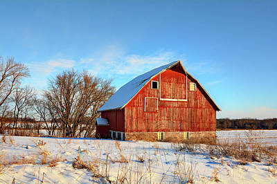 Butler Barn Poster by Bonfire Photography