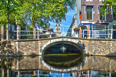 Butter Bridge Delft Poster