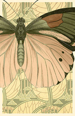 Butterfly 2 Poster by Robert Todd