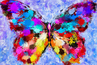 Butterfly 2 Poster by Yury Malkov