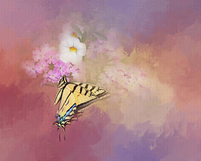 Butterfly Dreams Poster by Theresa Tahara