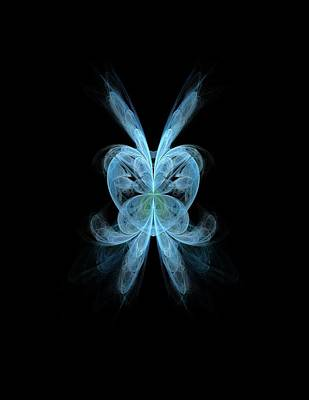 Butterfly Heart Poster by Angie Tirado