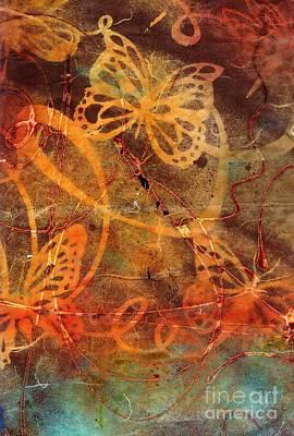 Butterfly Sun Dance Poster