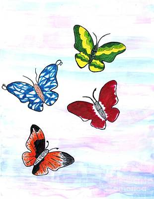 Butterfly Tag Poster