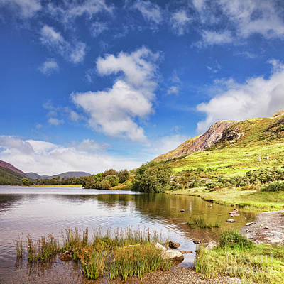 Poster featuring the photograph Buttermere, English Lake District by Colin and Linda McKie