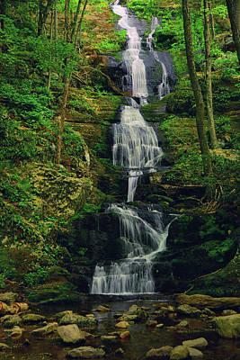 Buttermilk Falls 3 Poster by Raymond Salani III