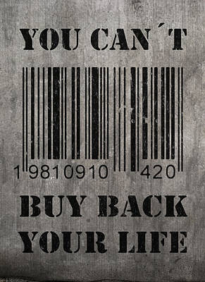 Buy Back Poster by Nicklas Gustafsson