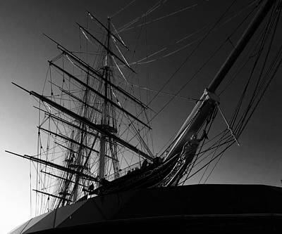 Bw Series Cutty Sark Five Poster