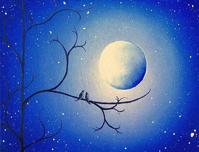 By The Night Poster by Rachel Bingaman