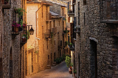 By The Town Of Ainsa In The Province Of Huesca Poster