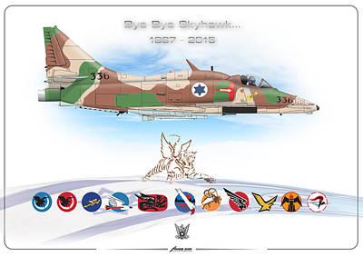 Bye Bye Skyhawk Poster