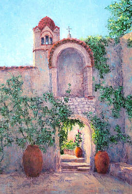 Byzantine Archway Poster by Jill Musser