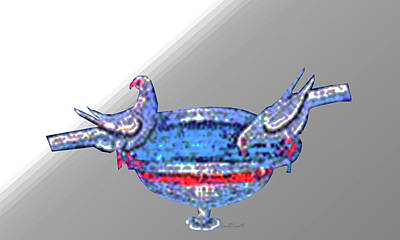 Byzantine Birdbath Poster