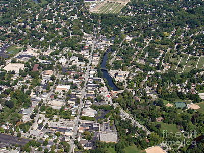 Poster featuring the photograph C-011 Cedarburg Wisconsin by Bill Lang