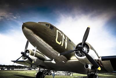 C-47d Skytrain Poster