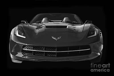 C7 Stingray Corvette Poster
