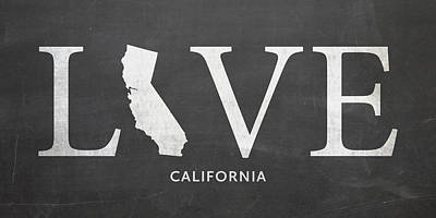 Ca Love Poster by Nancy Ingersoll
