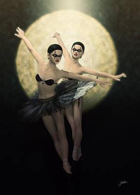 Cabaret Maldito Ballet De Diablesas Poster by Joaquin Abella