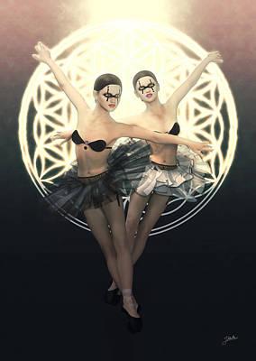 Cabaret Maldito Danza Fantasma Poster by Joaquin Abella