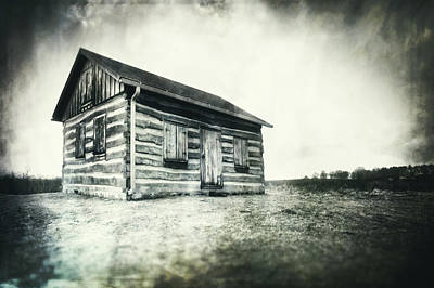 Poster featuring the photograph Cabin Near Paradise Springs - Kettle Moraine State Forest by Jennifer Rondinelli Reilly - Fine Art Photography
