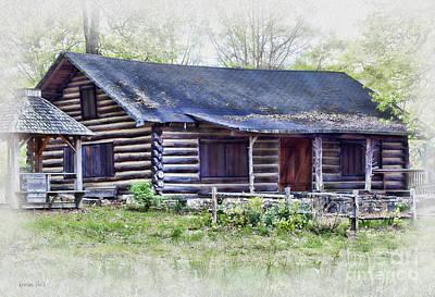 Cabin Of Bygone Days Poster by Korrine Holt