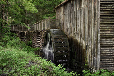 Cable Mill - Cades Cove - Tennessee Poster by Nikolyn McDonald