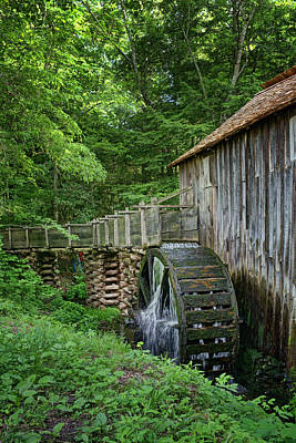 Cable Mill - Cades Cove - Tennessee - Vertical Poster by Nikolyn McDonald