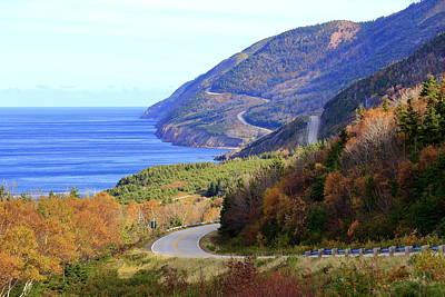 Cabot Trail, Cape Breton, Nova Scotia Poster