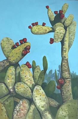 Cactus On Vicky Poster