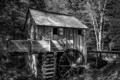 Cades Cove John Cable Grist Mill - 2 Poster