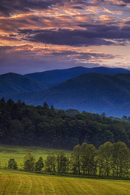 Cades Cove Morning Poster by Andrew Soundarajan