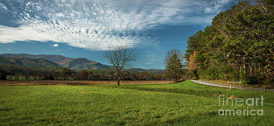 Cades Cove Tennessee Poster by Lena Auxier