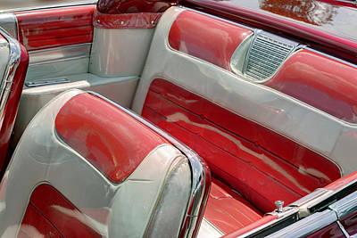 Cadillac El Dorado 1958 Seats. Miami Poster by Juan Carlos Ferro Duque
