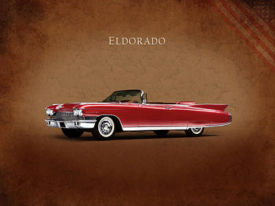 Cadillac Eldorado 1960 Poster by Mark Rogan