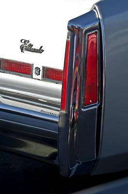 Cadillac Eldorado Taillights 3 Poster