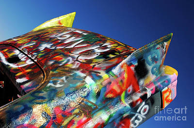 Cadillac Ranch 4 Poster by Bob Christopher