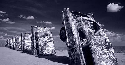 Cadillac Ranch Poster by Steve Williams
