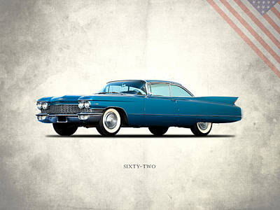 Cadillac Sixty Two Poster by Mark Rogan