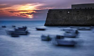 Cadiz Sunset Poster by Hernan Bua