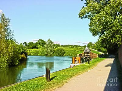 Caen Hill Locks Poster
