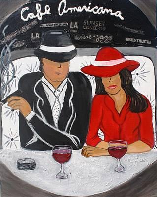 Cafe Americana - La  Poster